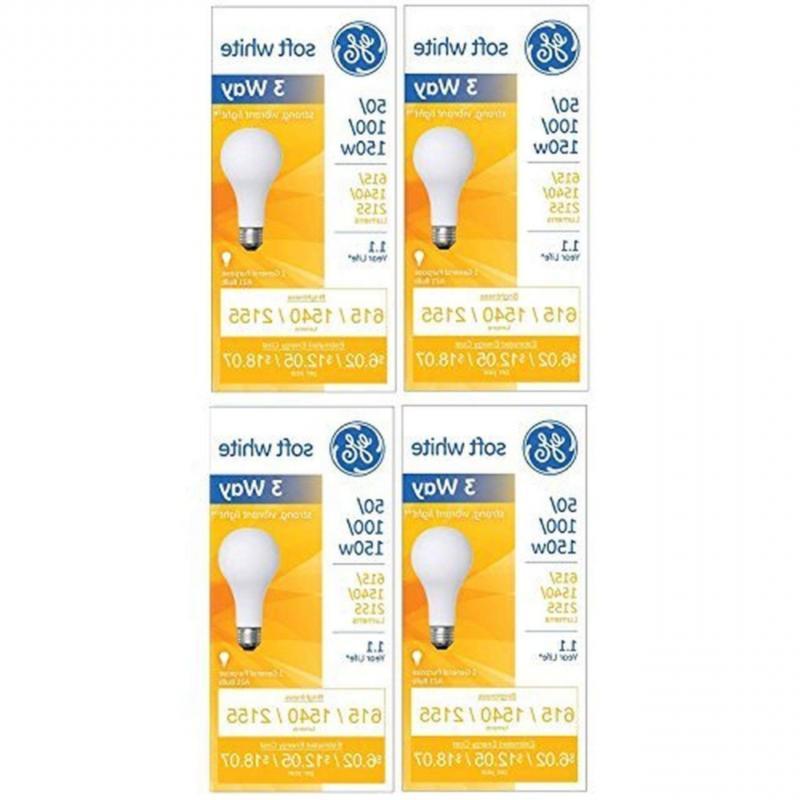 GE 97494 Lighting 50/100/150-Watt, 3-Way Light Bulb, Soft Wh