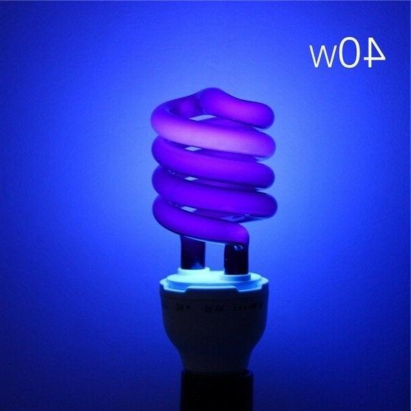 US Led light bulb 220V 40W E27 Ultraviolet UV Spiral Energy