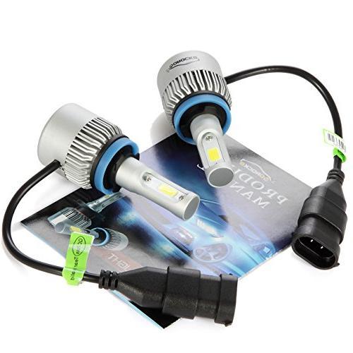 VoRock8 R2 H8 LED Conversion Kit, Driving or 6500K White, Pair- Year