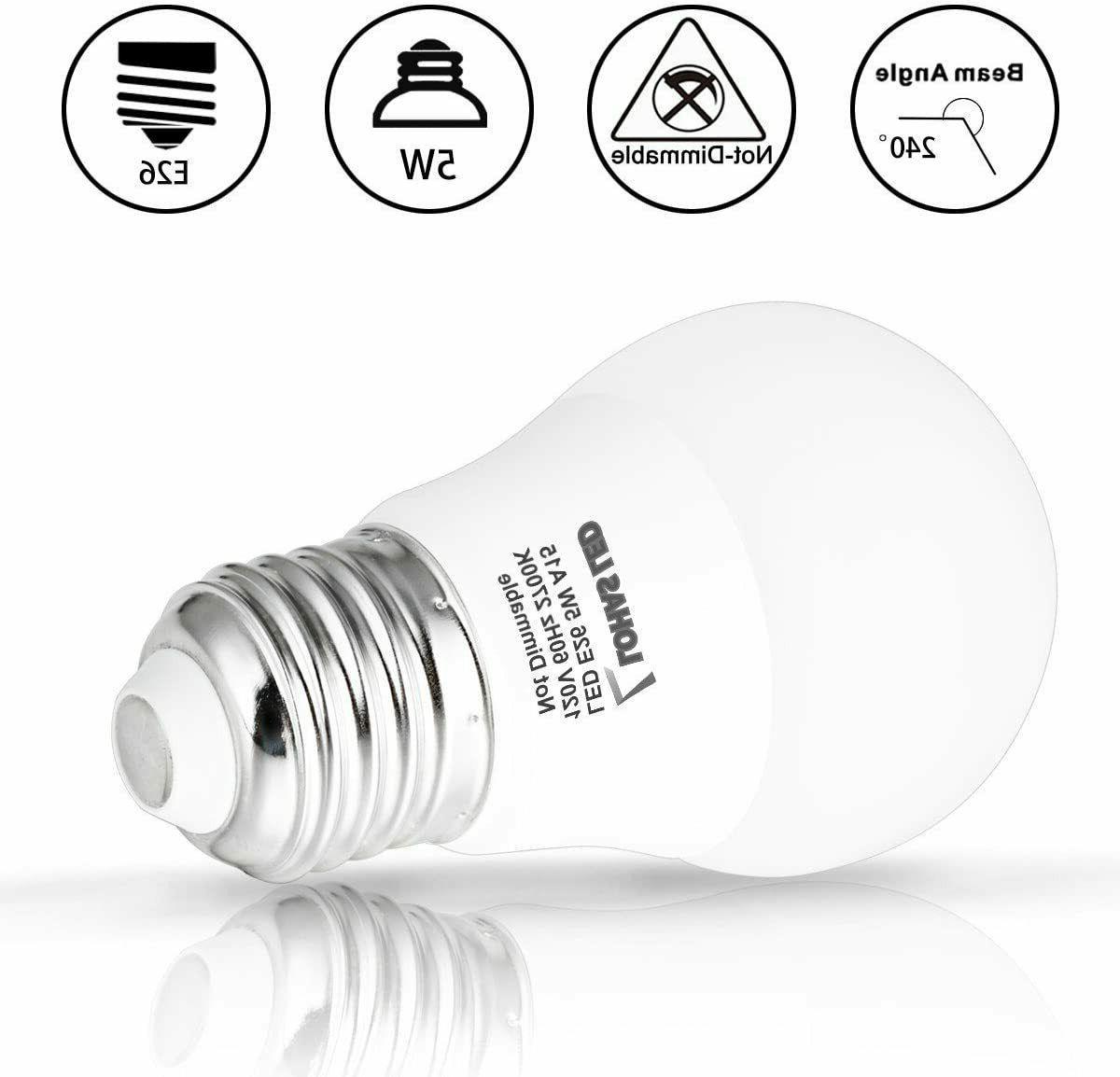 LOHAS LED Bulb Base 5W 6 Pack