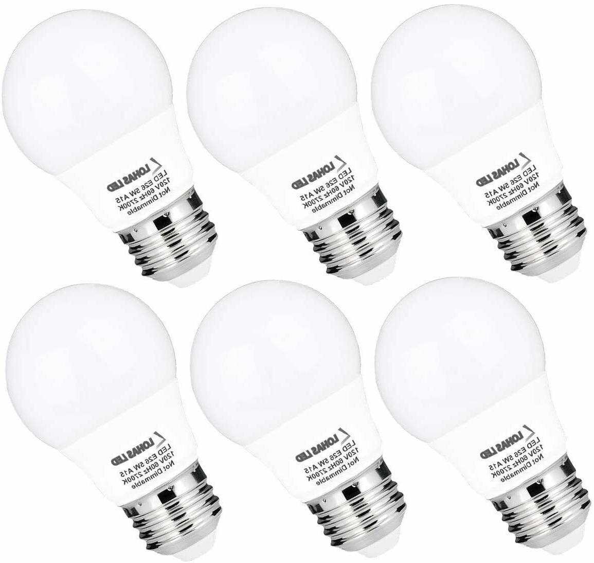 a15 led bulb 40w equivalent e26 medium