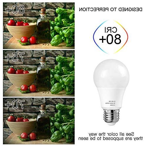 A19 LED Bulbs, Petronius 100 LED Soft White, 1100Lumens, Non Dimmable, Medium Screw Base , CRI80+, 12-Pack
