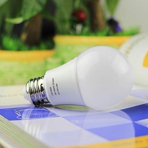 A19 Light Petronius Equivalent LED Bulbs,3000K White, 1100Lumens, Non Dimmable, Screw Base ,
