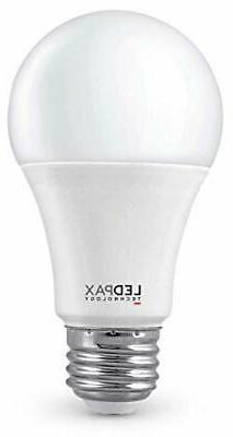 LEDPAX Technology A19D-3K-6 A19 LED Light Bulbs, 3000K