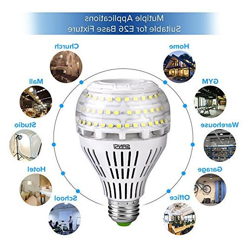 27W A21 Ceramic LED Light Bulbs, 4000 E26 Medium Screw Base Floodlight Bulb, Lighting, Non-dimmable, SANSI