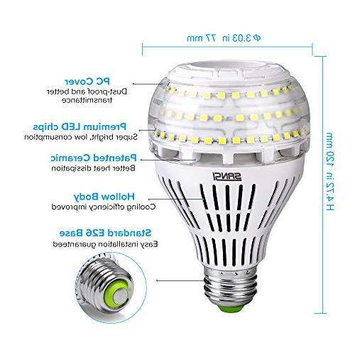 Ceramic 4000 Lumens, 5000K Daylight, E26 Floodlight Bulb, Lighting,
