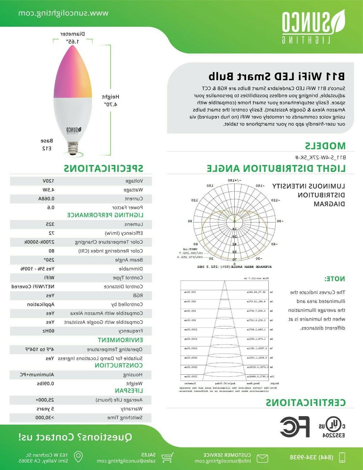 Sunco Smart Compatible 6pk