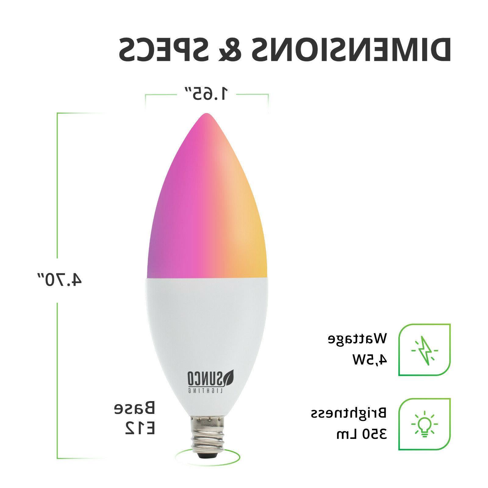 Sunco Lighting Smart Sync Compatible