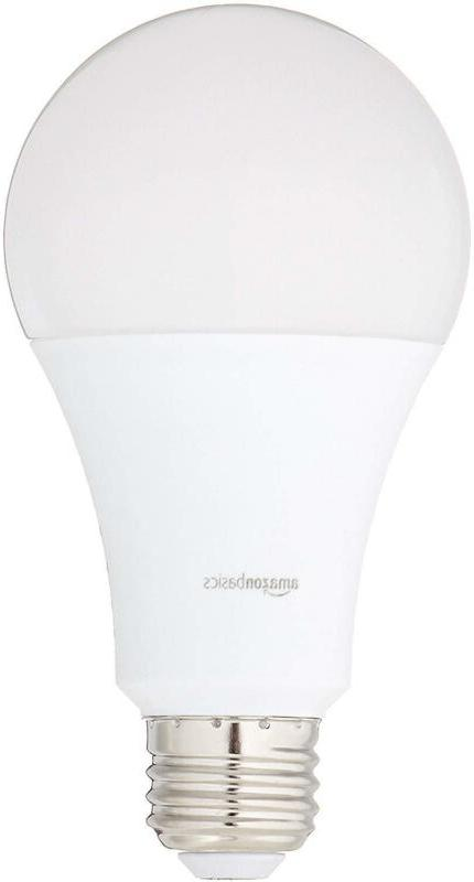 Basics 100 Watt Equivalent, Daylight, Non-Dimmable, A21 Led