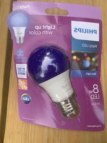 blue light bulb led 8w light bulb