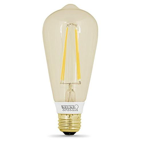 "Original"" Clear Glass Soft Dimmable Light Bulb"