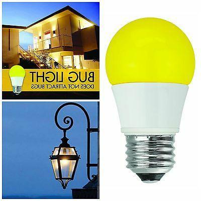 Bug LED Light Bulbs Non Dimmable Yellow Bug Light Bulbs Outd
