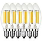 C35 Candelabra Edison LED Light Bulb 6W Equivalent 60W Incan