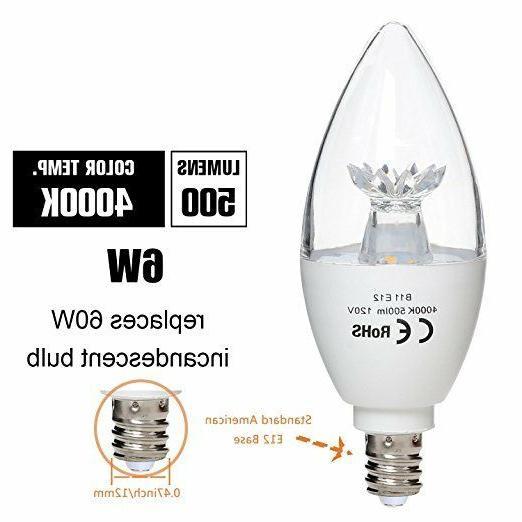 Candle LED Light 6W Daylight