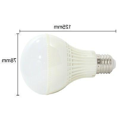 9W LED White Standard Light E26 Equivalent