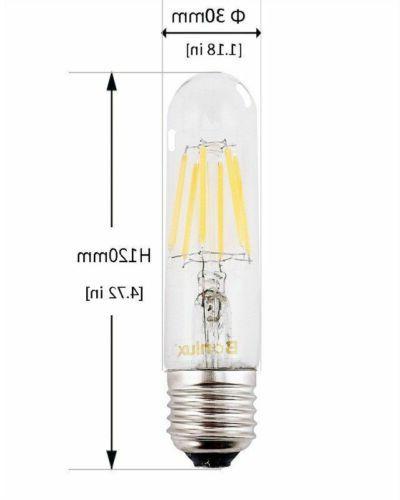 Dimmable 6W T10 Tubular Filament Bulb