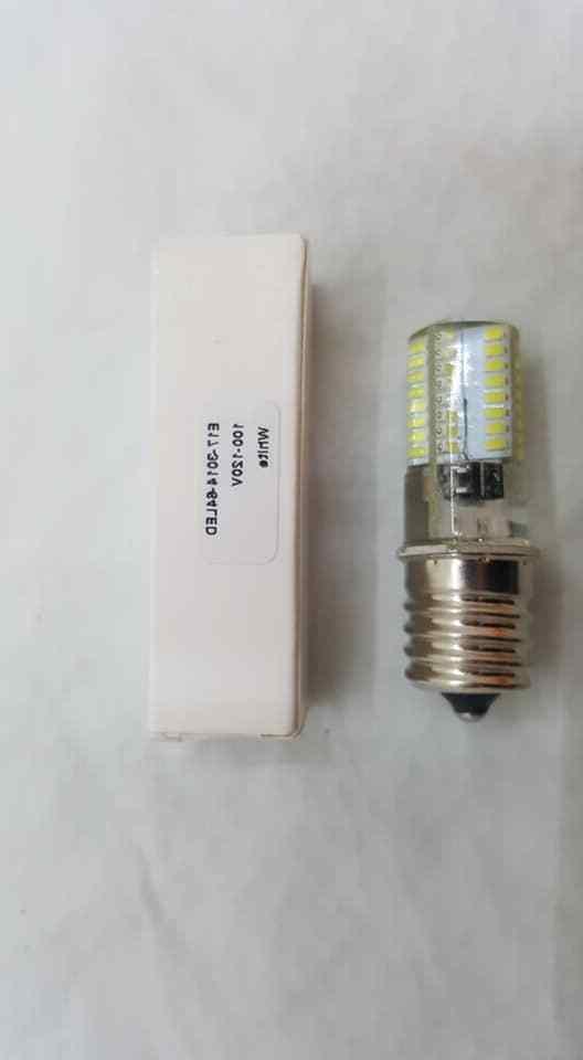 E17 Appliance/microwave/fridge Bulb,120V White Watt =40W