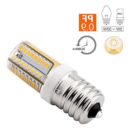 E17 120V AC, Oven Replacement Freezer, Intermediate Bulb,
