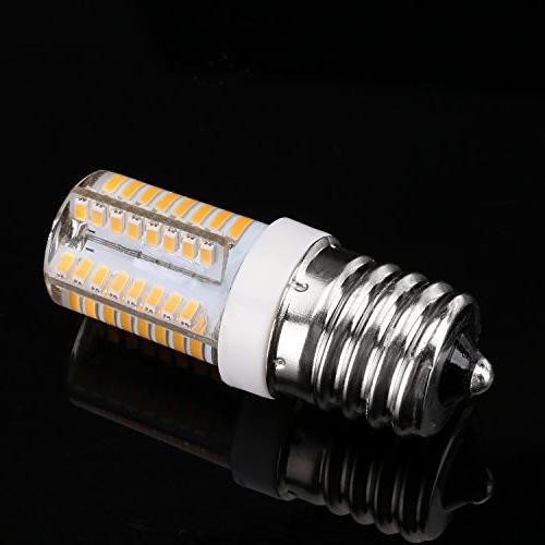 E17 AC, Warm 3 Oven Replacement Bulbs, Freezer, Intermediate Light Bulb,
