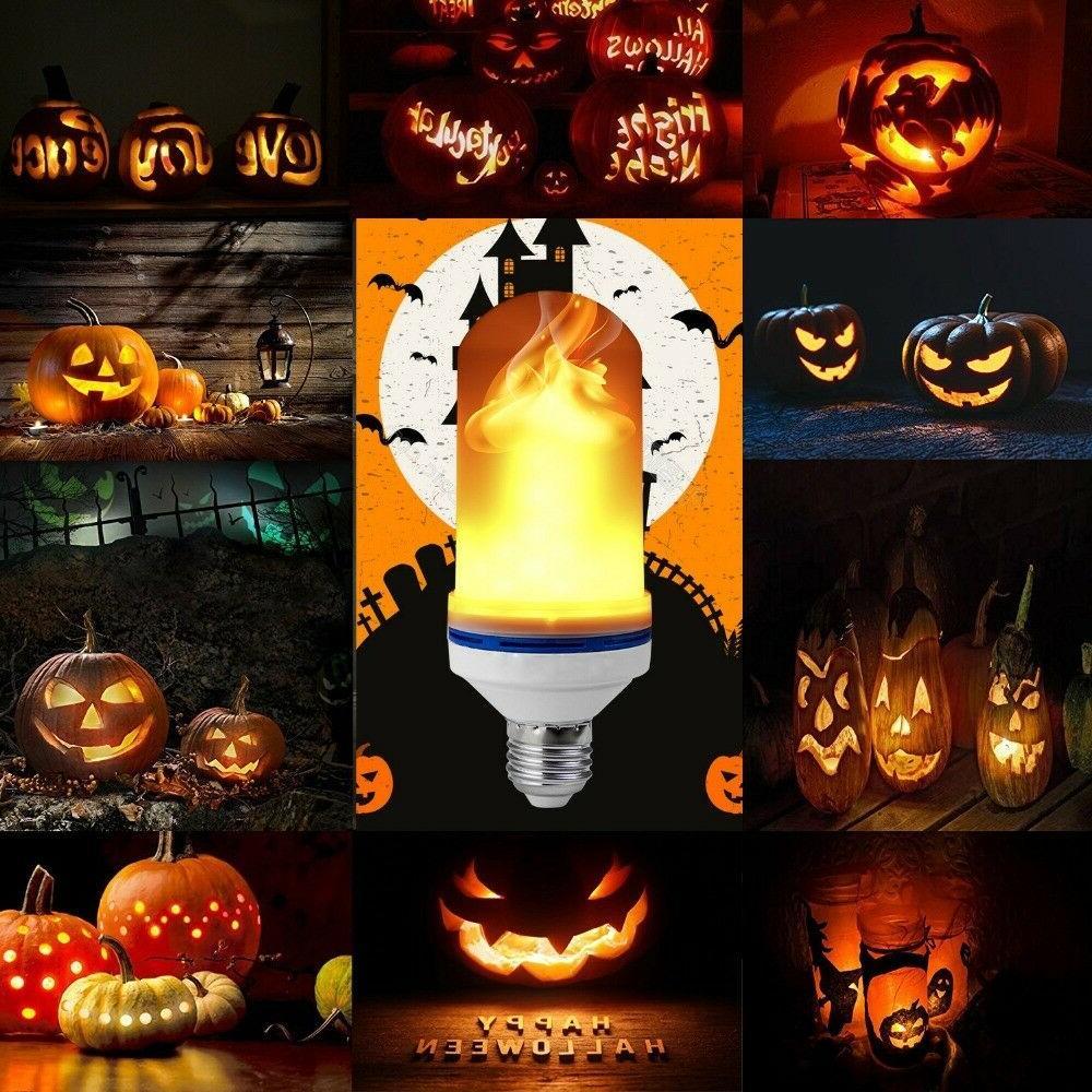 E26 LED Flame Light Bulb Simulated Fire Effect Festival