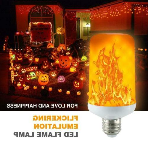 E27 LED Flame Light Burning Festival Party
