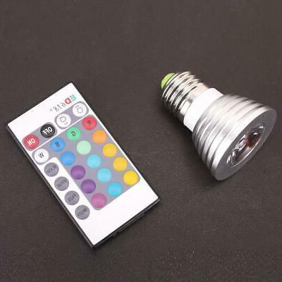 E27 Changing RGB SpotLight light