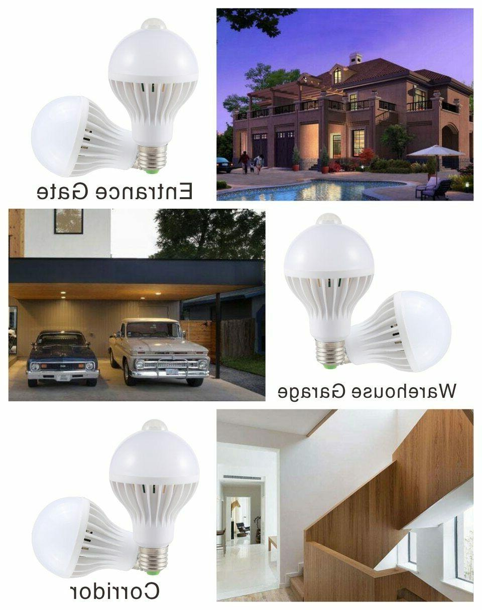 E27 5W Dusk to Dawn Auto Light Energy Saving LED Garden