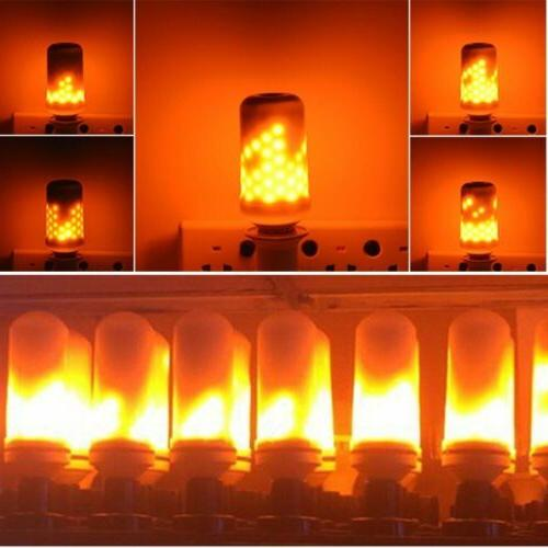 E27 Flame Light Bulb Simulated Burning Fire Party