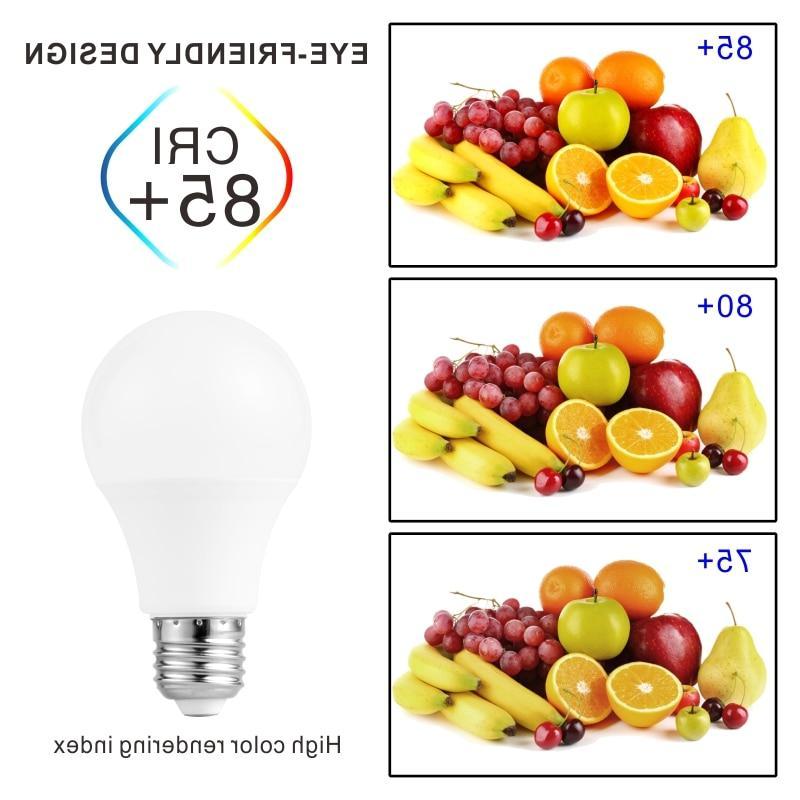 E27 LED Lamps 6W 15W <font><b>18W</b></font> LED 220V 240V Spotlight White