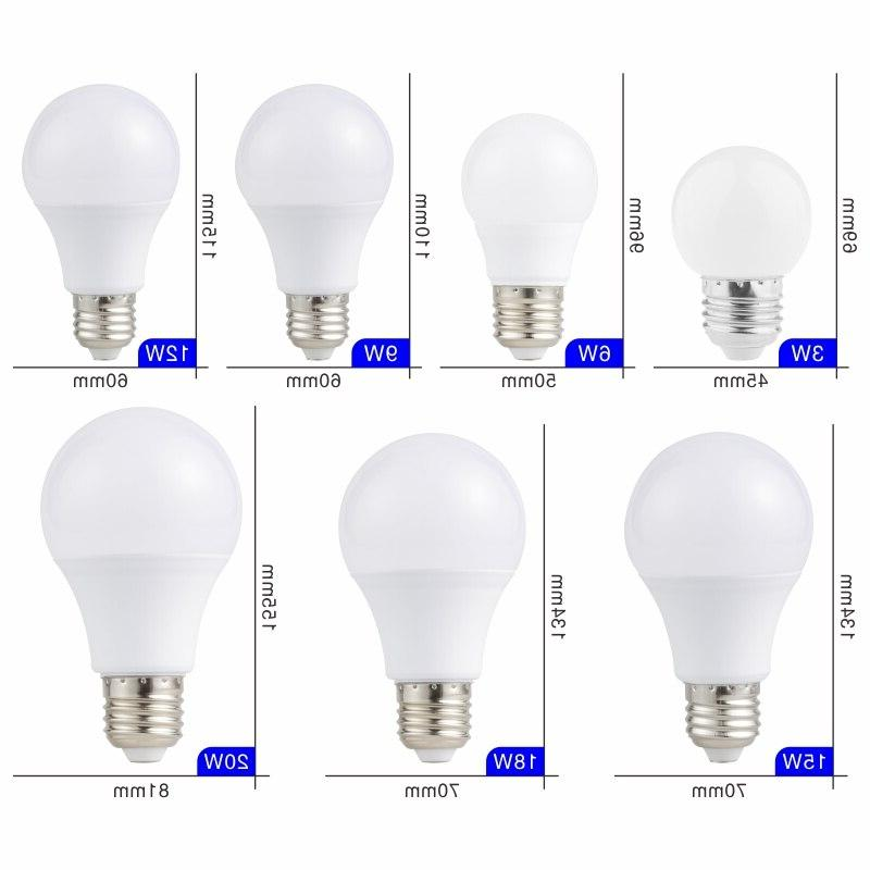 E27 E14 Lamps 15W 20W Lampada 220V 240V Spotlight Cold/Warm