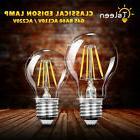 E27 Tsleen Edison G45/A60 110/220V Round Globe Filament LED