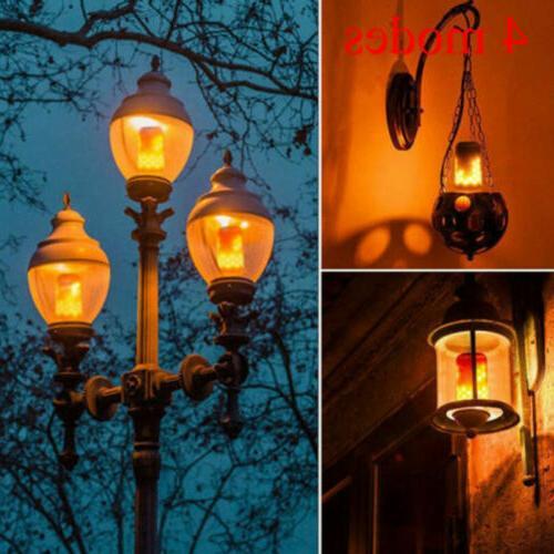 E27 LED Flicker Light Fire Decor