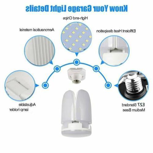 E27 Light Bulb Deformable Lights Shop Workshop Lamp
