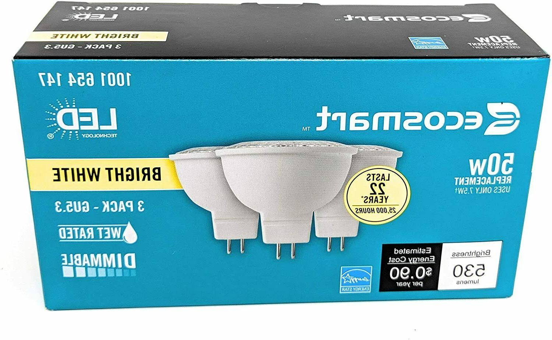 ecosmart 50w led light bulb gu5 3