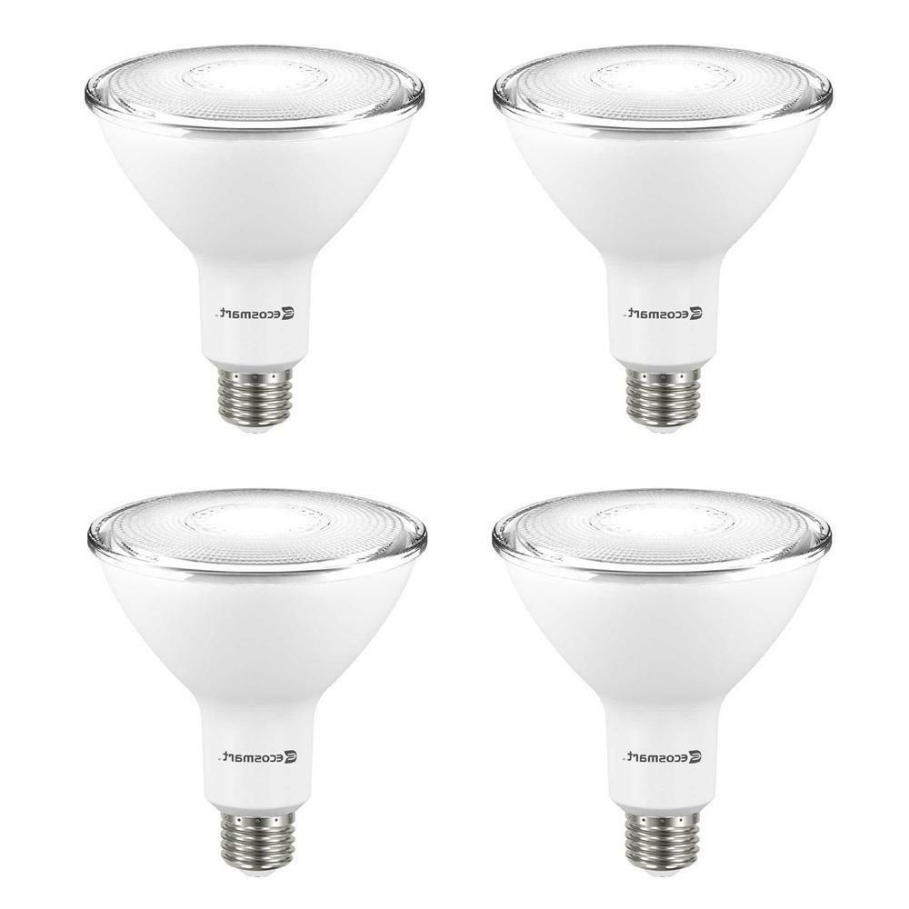 EcoSmart 90W Non-Dimmable LED Floodlight Bulbs, Bright White