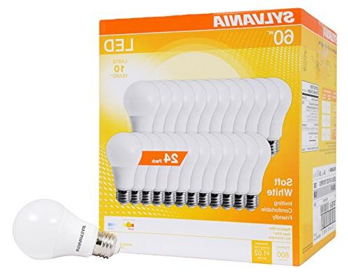 Sylvania Home A19 8.5W White 2700K Equivalent A29 LED Bulb