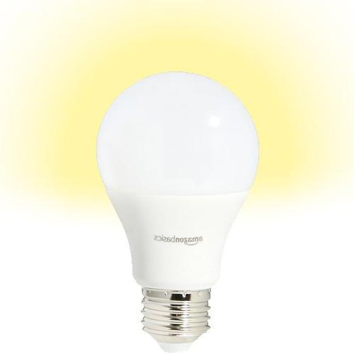 AmazonBasics Watt Soft Non-Dimmable, LED Light Bulb 6-Pack