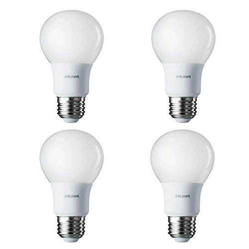 Philips 60-Watt Equivalent A19 LED Soft White - -