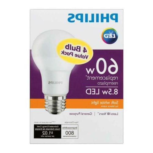 equivalent a19 light bulb soft