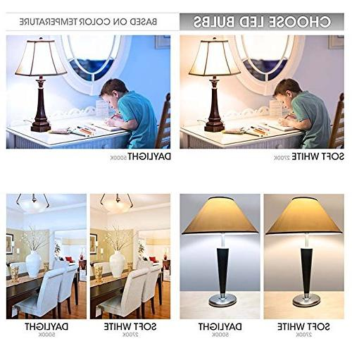 TCP LED Shatter Resistant   Efficient   Non-Dimmable A19 E26 of 6, Soft 2700 Each