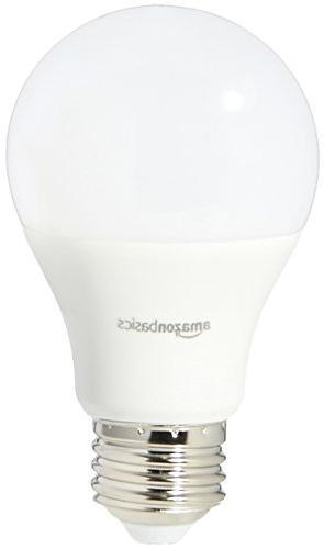 AmazonBasics 60 Soft White, Non-Dimmable, LED Bulb 6-Pack