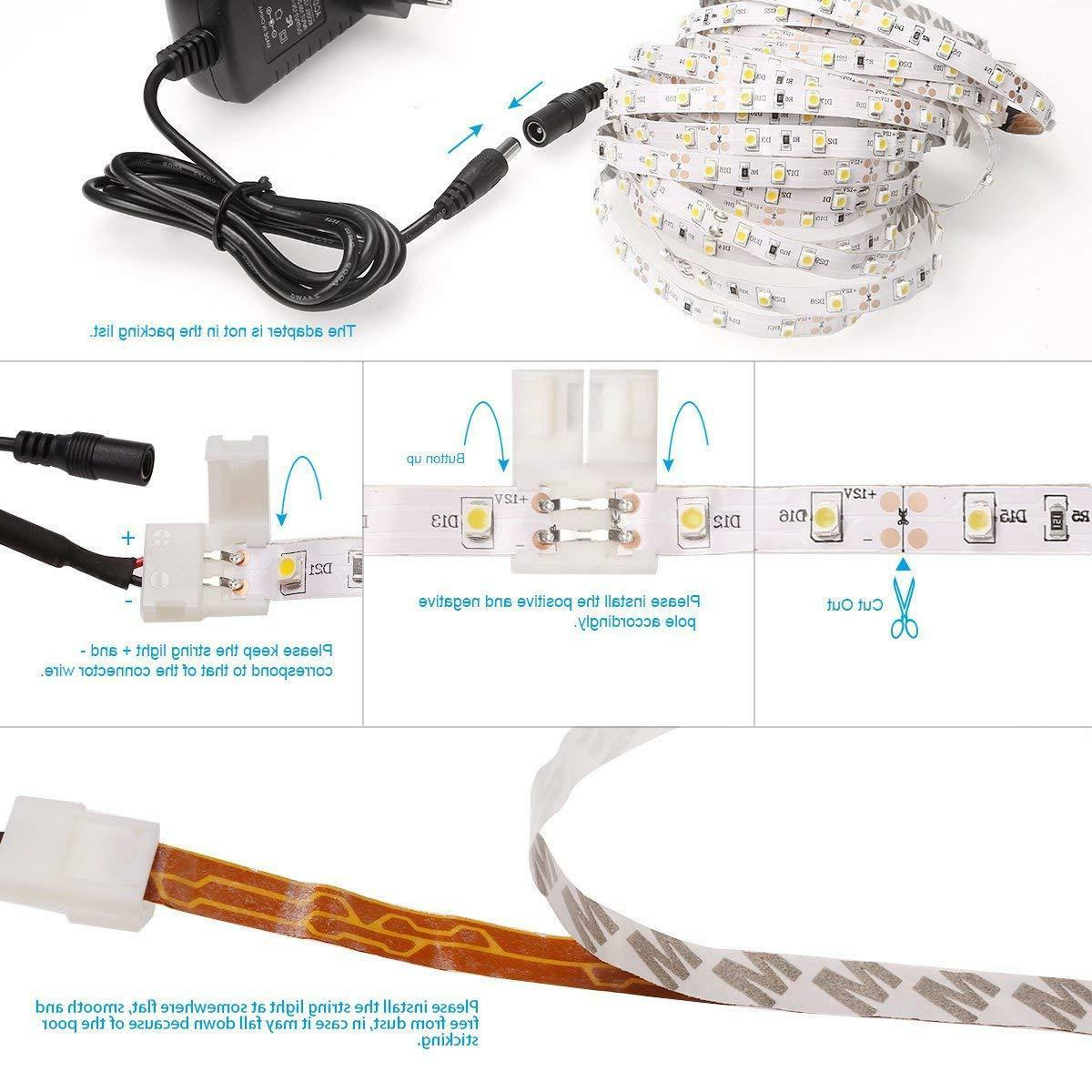 Flexible Cuttable LED Strip Self Adhesive Lighting