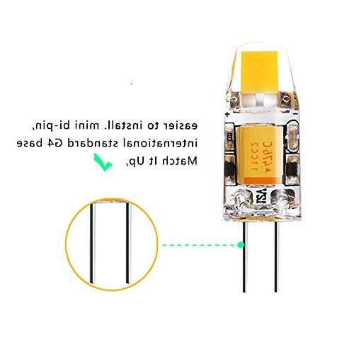G4 Bi-Pin Bulb, 10W Halogen Replacement RV