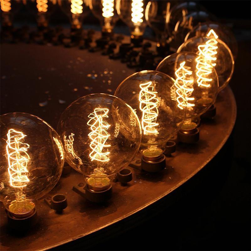 KARWEN <font><b>LED</b></font> <font><b>Filament</b></font> Edison Edison T10 T45 G80 G95 Replace Incandescent <font><b>Bulb</b></font>