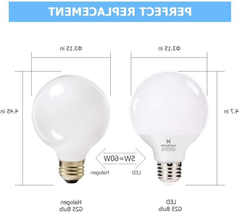 G25 Led Vanity Bulb 5W Soft