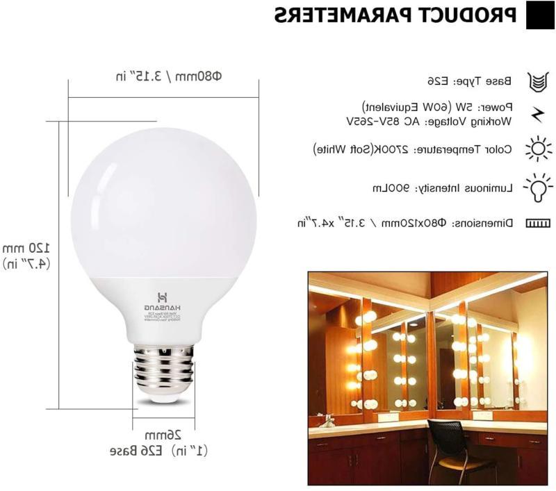 G25 Bulb 5W Soft Wh