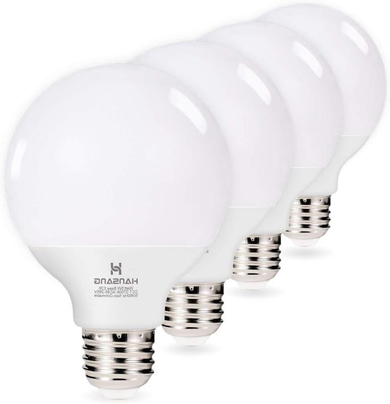 g25 led vanity light bulb hansang 5w