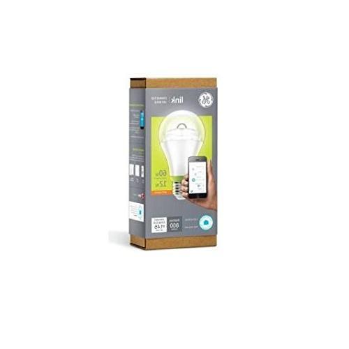 GE Link Smart Light White , 60-Watt Equivalent, 1-Pack, Zigbee, Works Alexa