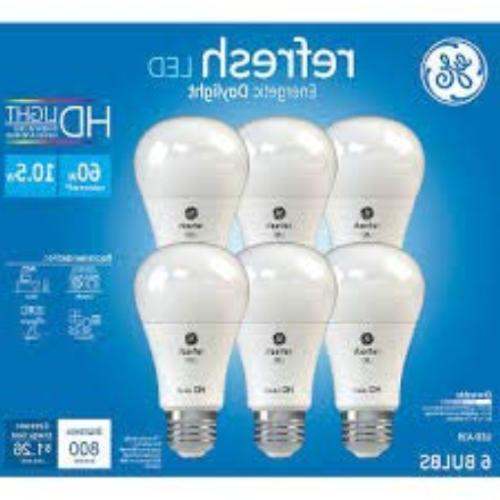 GE Refresh High Definition LED Light Bulb 10.5-watt 5000K En