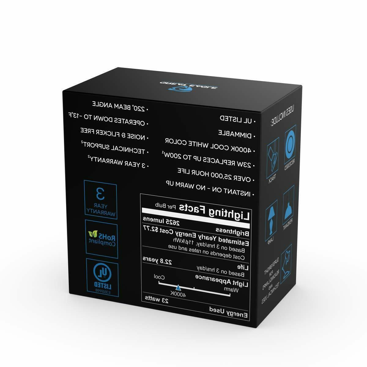 Great A21 LED 2700K/3000K/4000K/5000K
